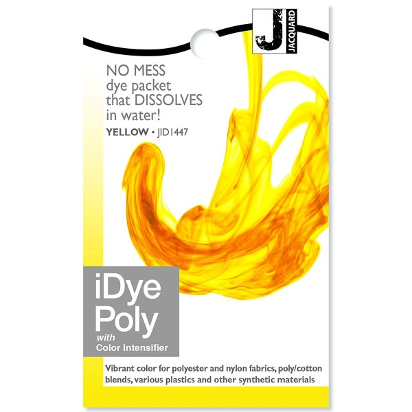 Teinture Polyester iDye Poly - Jaune - 14 g - Photo n°1