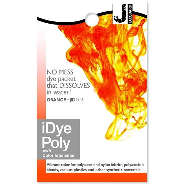 Teinture Polyester iDye Poly - Orange - 14 g - Photo n°1