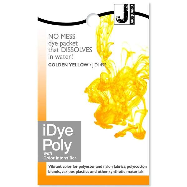 Teinture Polyester iDye Poly - Jaune doré - 14 g - Photo n°1