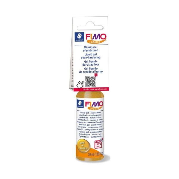 La FIMO Liquide Déco Gel d'Or 50ml, Bricolage à la Main, des Fournitures d'Artisanat, modelage en Ar - Photo n°1