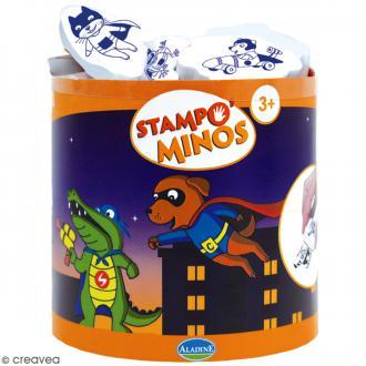 Kit de tampons Stampo Minos - Héros - 13 pcs