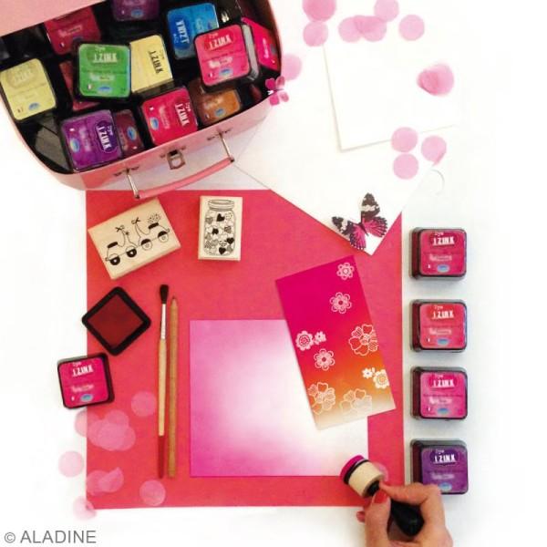 Encreur Izink Dye - 20 coloris - 4,5 x 4,5 cm - Photo n°3
