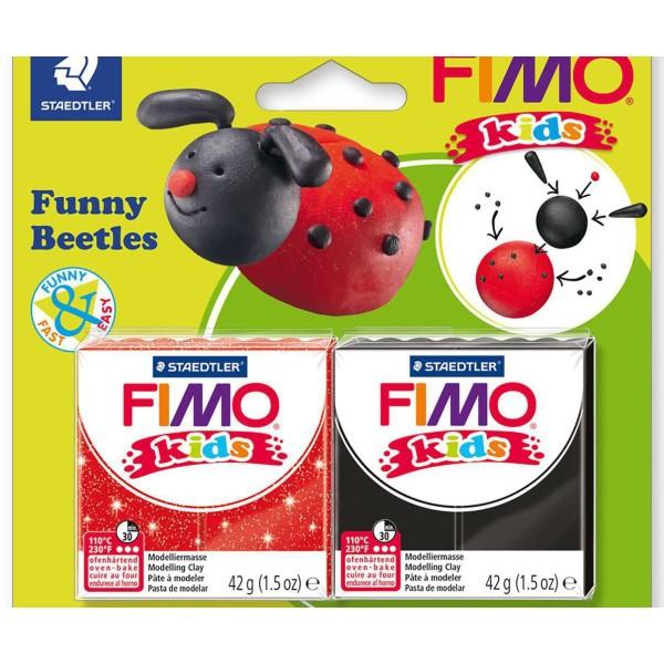 FIMO Kids Drôle Beru Ensemble, Bricolage À La Main, Des Fournitures D'Artisanat, Argile Polymère, Ar - Photo n°2