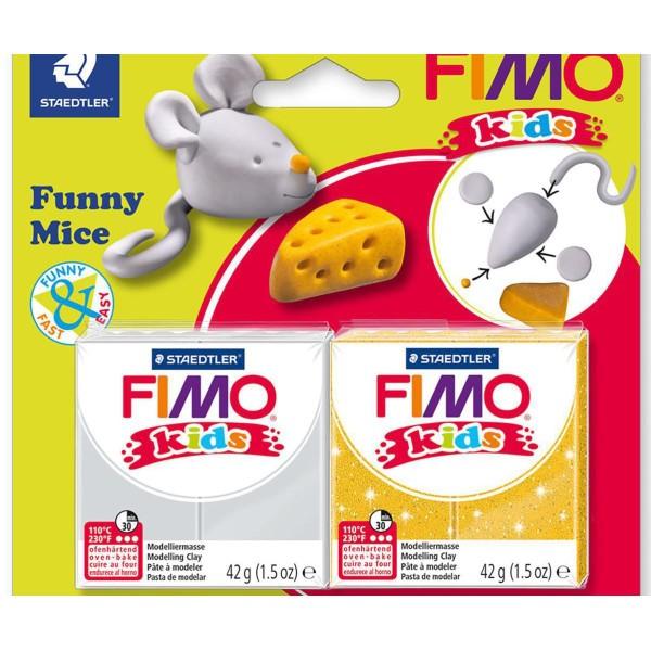 FIMO Kids Jeu Drôle De Souris, Bricolage À La Main, Des Fournitures D'Artisanat, Argile Polymère, Ar - Photo n°2