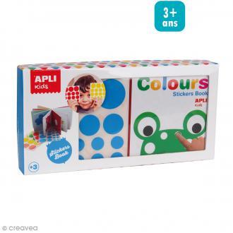 Kit Mon 1er livre + Gommettes couleurs