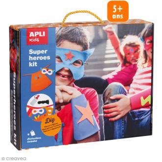 Kit Costume Super-Héros - Matériel pour 4 déguisements