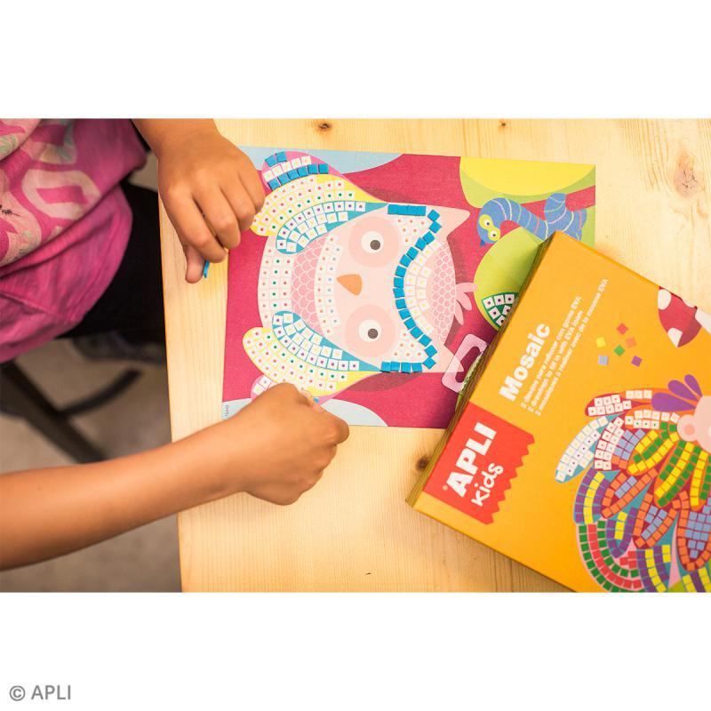 Kit mosaïque mousse EVA - Animaux - Photo n°5