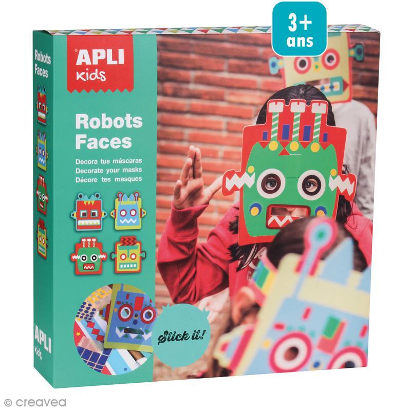 Kit D Guisement Masques Robots D Guisement Enfant Creavea