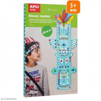 Kit Toise indien 70 cm à décorer + gommettes