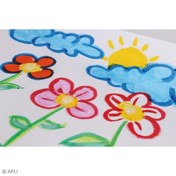 Gouache solide Color Sticks - Assortiment 6 couleurs - Photo n°4