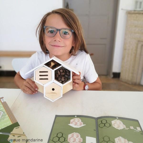 Kit créatif - Mangeoire à construire - Photo n°6