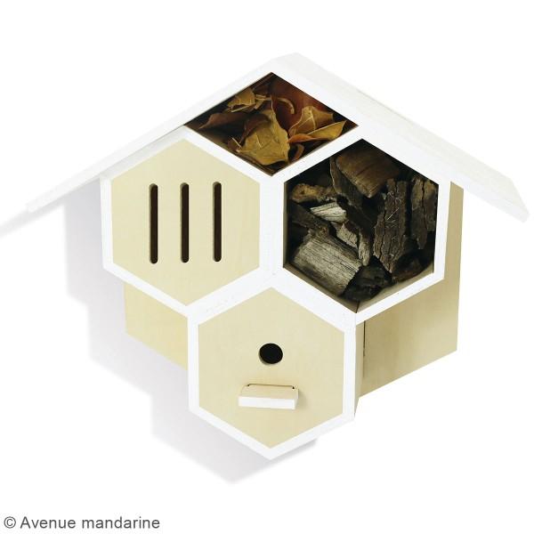 Kit créatif - Hôtel à insectes à construire - Photo n°2