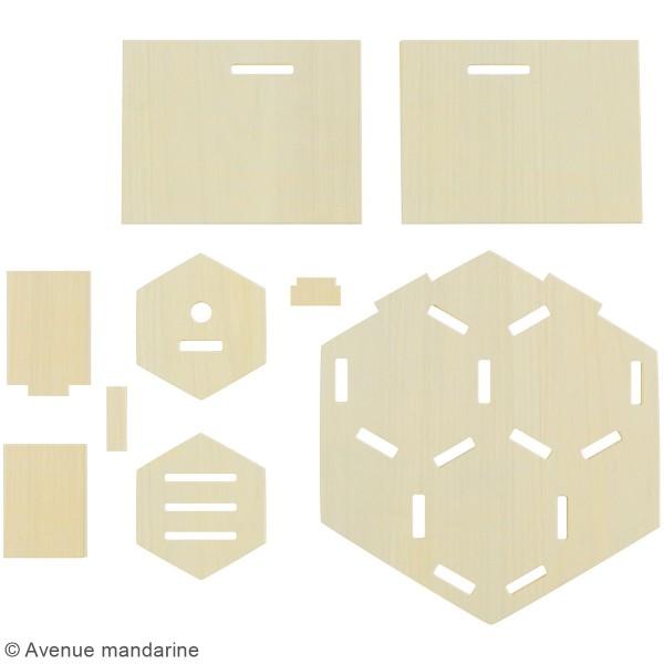 Kit créatif - Hôtel à insectes à construire - Photo n°3