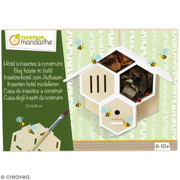 Kit créatif - Hôtel à insectes à construire - Photo n°1