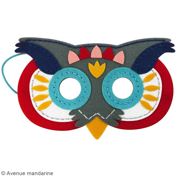 Kit créatif - Masques à coudre - Photo n°3