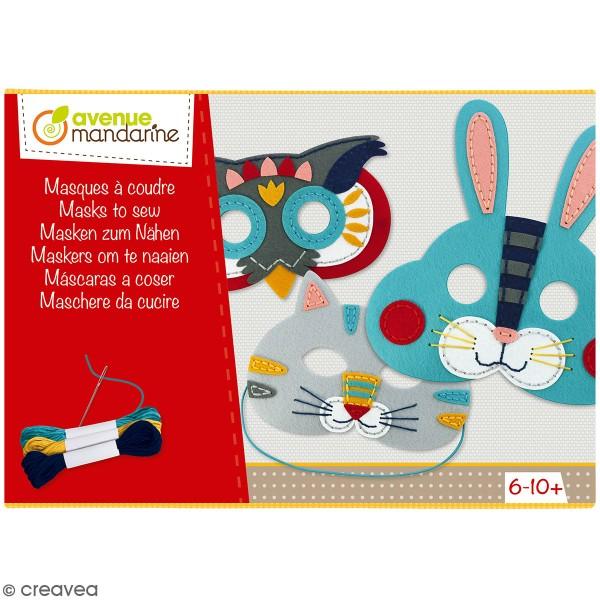 Kit créatif - Masques à coudre - Photo n°1