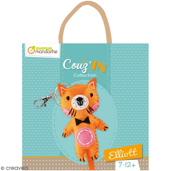 Kit créatif Mini Couz'in - Elliott le chat - Photo n°1