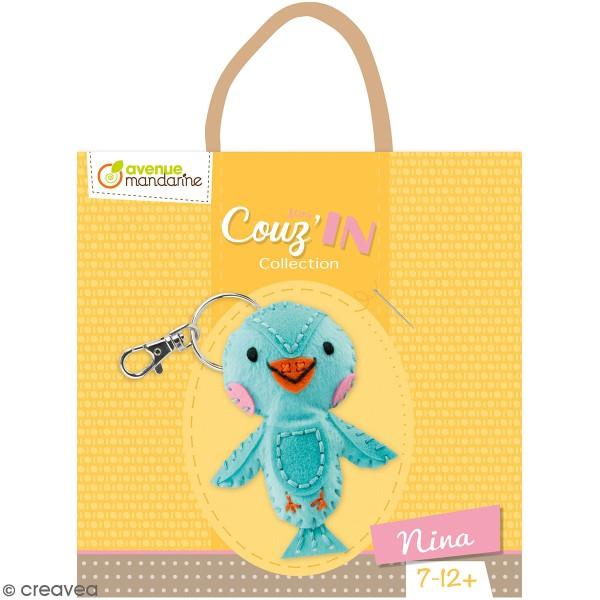 Kit créatif Mini Couz'in - Nina l'oiseau - Photo n°1