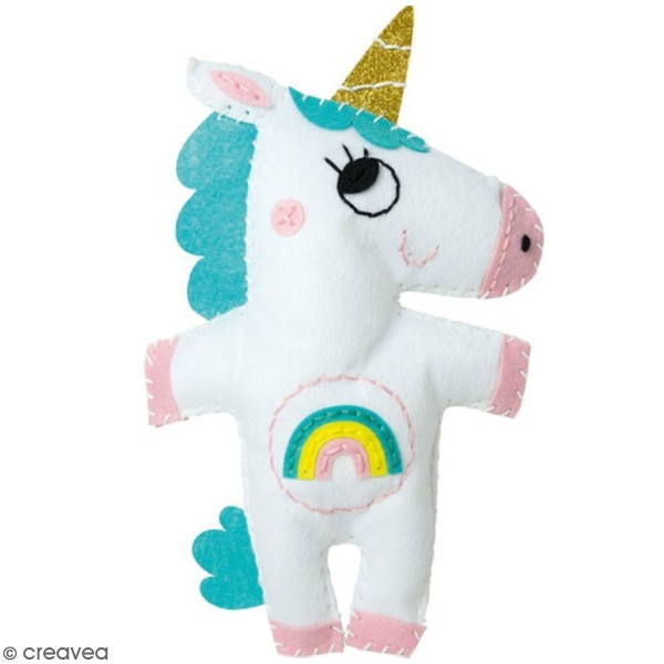 Kit créatif Little Couz'in - Alicia la licorne - Photo n°2