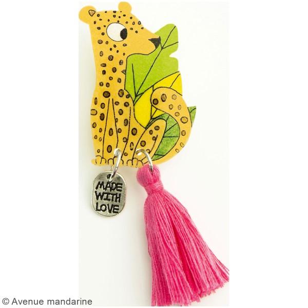 Kit DIY - Broche léopard - Photo n°2