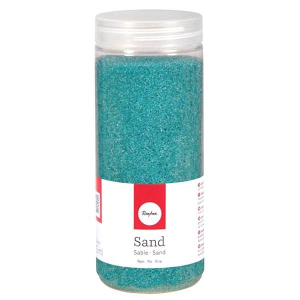 Sable décoratif Bleu turquoise - 475 ml - Photo n°1