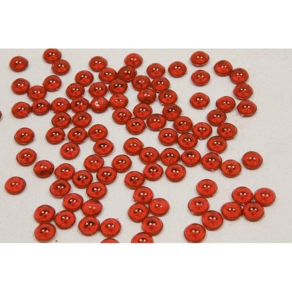 Lot de 180 gr de Gouttes de pluie en acrylique Bordeaux, Ø 5mm, pour déco de table - Photo n°3