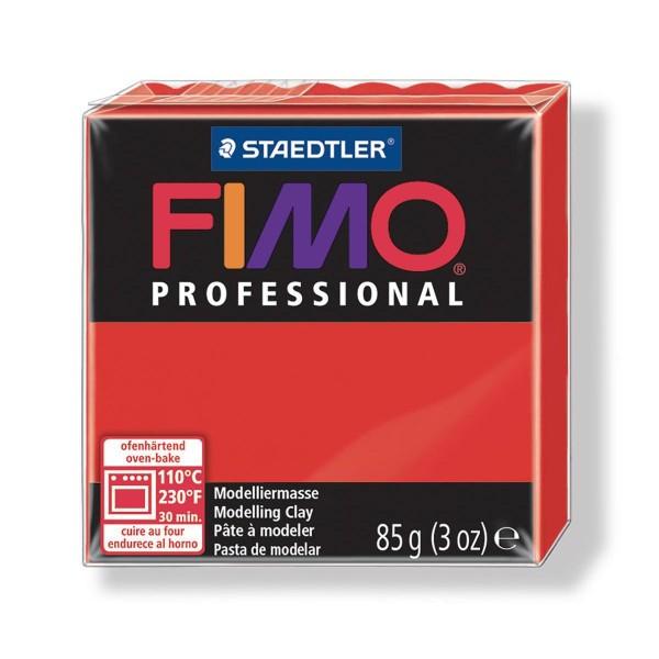 FIMO Professional 85g Rouge (de base), de l'Argile Tutoriel, Argile, Limon, Argile, de l'Artisanat, - Photo n°1