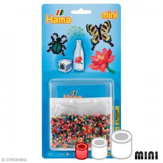 Kit Perles Hama Mini - Nature - 2000 perles et accessoires
