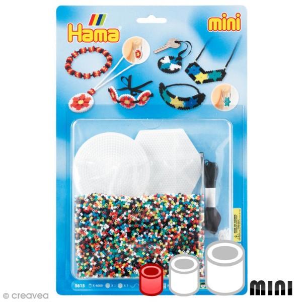 Kit Perles Hama Mini - Bijoux - 4000 perles et accessoires - Photo n°1