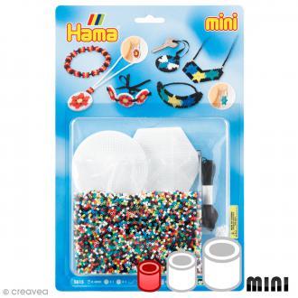 Kit Perles Hama Mini - Bijoux - 4000 perles et accessoires