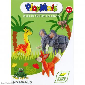 Modèles pour créations PlayMais - Livre N°2 - Animaux