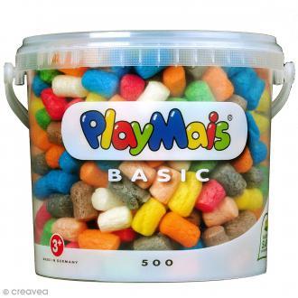 Seau PlayMais de 5L - Assortiment de couleurs