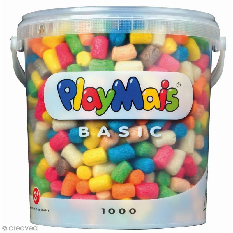 Seau PlayMais de 10L - Assortiment de couleurs - Photo n°1