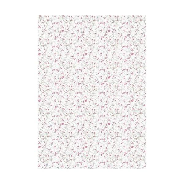 10 Pcs Carton A4 220g - Coeur Petite Rose, Papier de Bricolage, Papier Blanc, des Fournitures d'Art, - Photo n°1