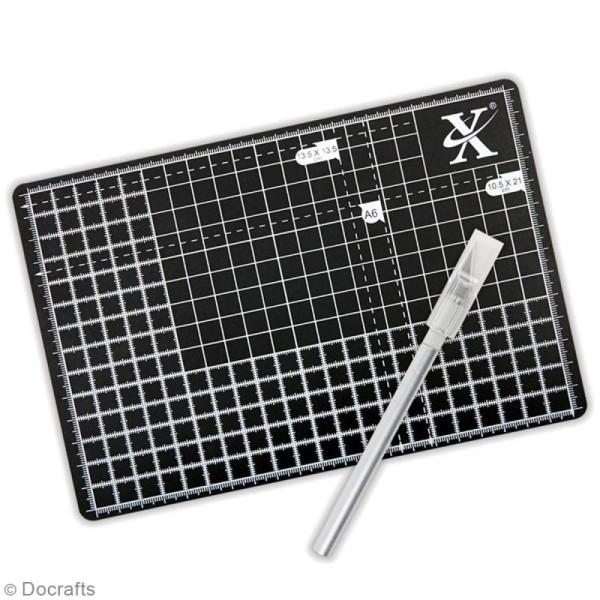 Kit cutter et tapis de coupe A5 - Photo n°2
