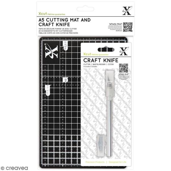 Kit cutter et tapis de coupe A5 - Photo n°1
