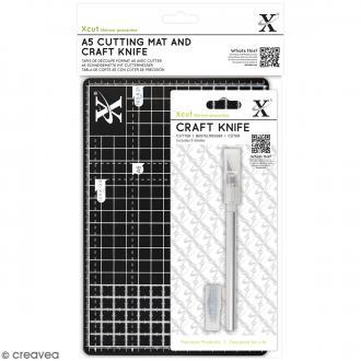 Kit cutter et tapis de coupe A5