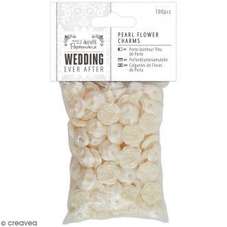 Perles fleurs Wedding - 100 pcs