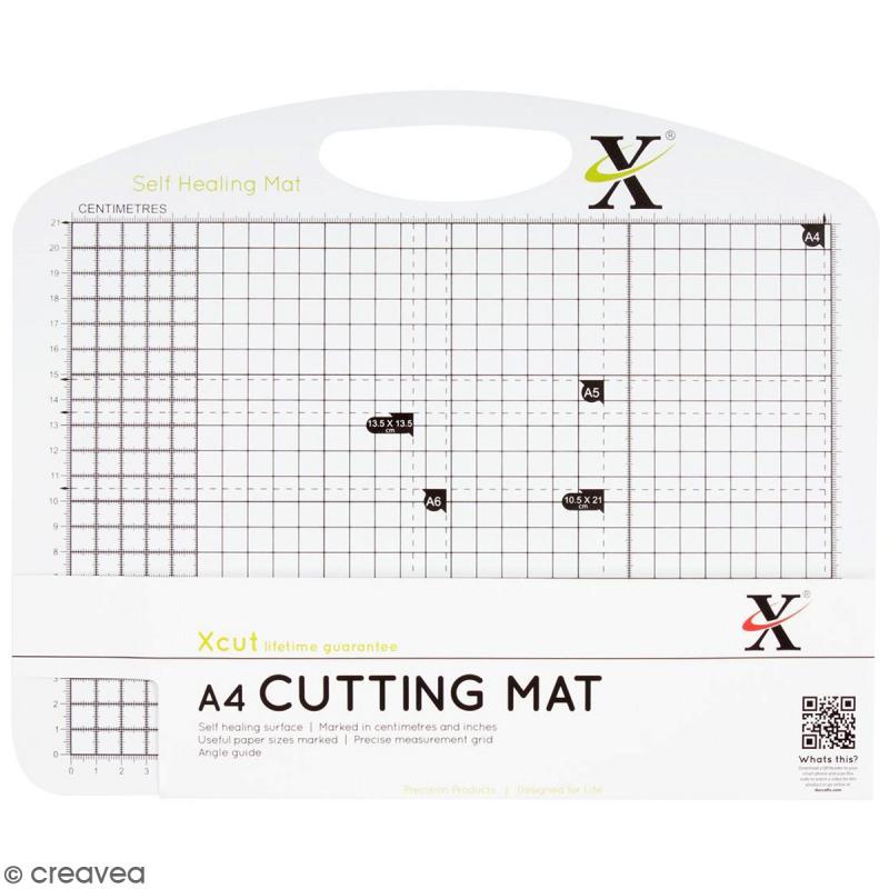 Tapis de coupe auto-cicatrisant A4 Papermania - Photo n°1