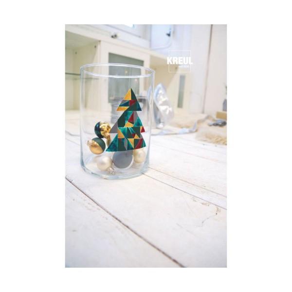 Le verre Et la Porcelaine KREUL Peinture Classique Jaune Canari 20ml, Peinture d'Artisanat, de Color - Photo n°3