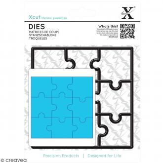 Matrice de coupe Xcut - Pièces de puzzle - 1 pce