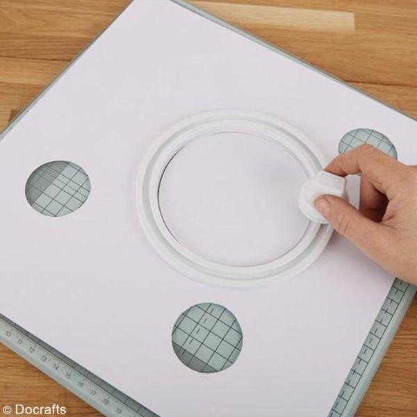 Kit cutter - Lame de découpe et gabarits - 7 pcs - Photo n°2