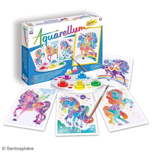Jeu créatif Aquarellum Junior - Licornes - Photo n°2