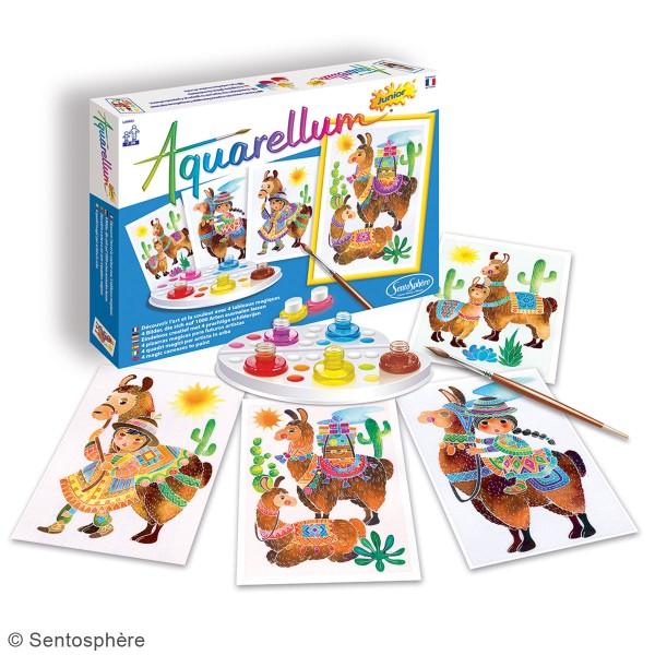 Jeu créatif Aquarellum Junior - Lamas - Photo n°2