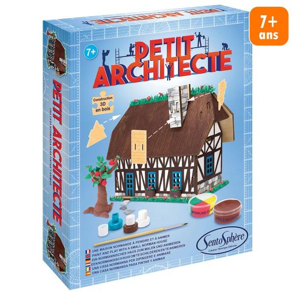 Kit puzzle 3D Petit Architecte - Maison normande - Photo n°1