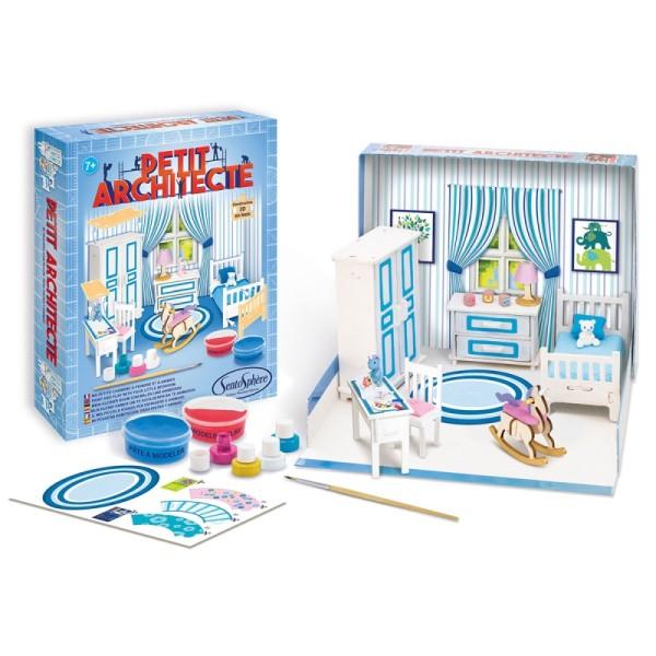 Kit puzzle 3D Petit Architecte - Chambre à coucher - Photo n°2