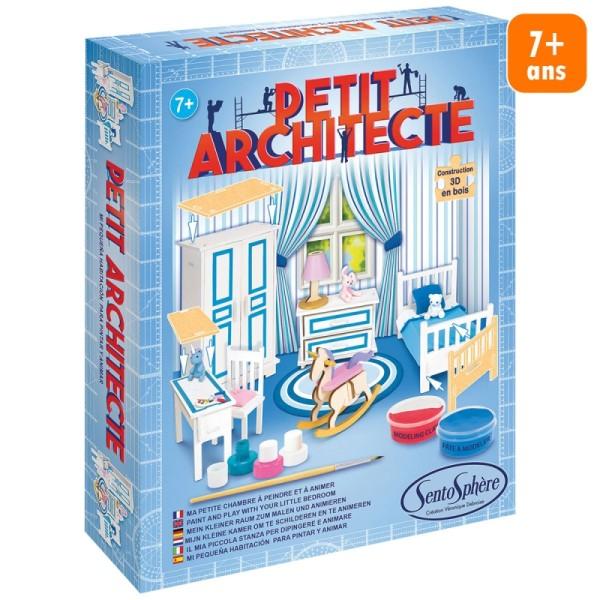 Kit puzzle 3D Petit Architecte - Chambre à coucher - Photo n°1