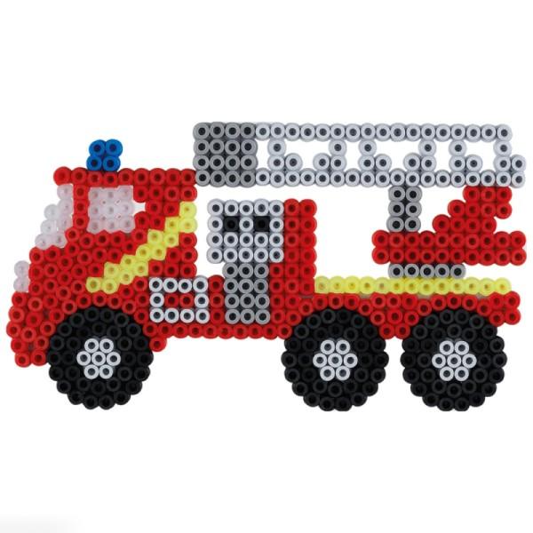 Kit Perles Hama Midi - Pompiers - 2000 perles - Photo n°2