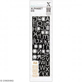 Matrice de coupe Xcut - Alphabet Silhouette - 1 pce - 52 lettres