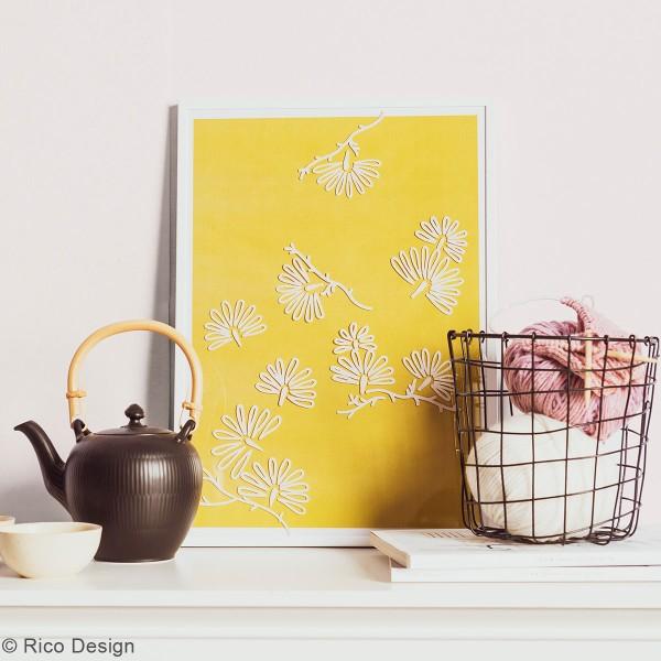 Modèles pour décoration de surfaces vitrées - Jardin Japonais - 60 x 86 cm - 3 designs - Photo n°3